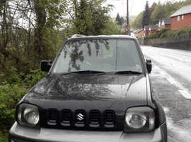 Suzuki Jimny, 2007 (07) Black Estate, Manual Petrol, 84,600 miles