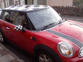 Mini MINI, 2010 (60) Red Hatchback, Manual Petrol, 78,000 miles