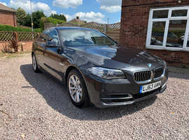 BMW 5 Series, 2013 (63) Grey Saloon, Automatic Diesel, 25,000 miles