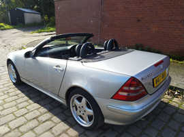 Mercedes Slk, 2000 (W) Silver Convertible, Automatic Petrol, 80,000 miles