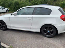 BMW 1 series, 2011 (11) White Hatchback, Manual Petrol, 84,945 miles