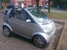Smart CITY CABRIO, 2004 (54) Silver Convertible, Automatic Petrol, 76,000 miles