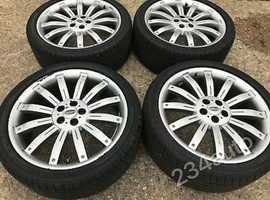 """L@@K 22""""OVER/FINCE RIMS FOR ALL LAND ROVERS AND SOME OTHER MOTORS ETC"""