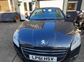 Peugeot 508, 2012 (61) Grey Saloon, Manual Diesel, 15,300 miles