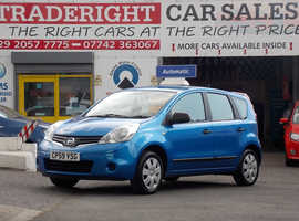 Nissan Note 1.6 Visia AUTOMATIC JUST 34 K 5 door in blue met  lovely fsh