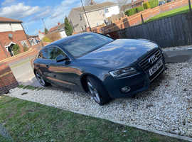 Audi A5, 2008 (58) Grey Coupe, Manual Diesel, 160,042 miles