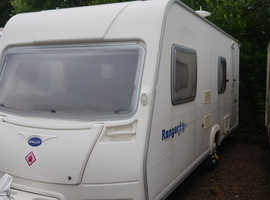 6 BERTH 2008 MODEL. BAILEY WITH FULL AWNING. EXCELLENT VAN.