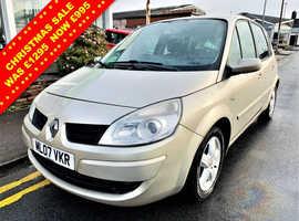 Renault Megane, 2007 (07) Gold MPV, Manual Petrol, 90,897 miles