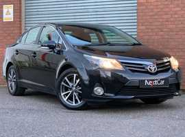 Toyota Avensis 2.0 D-4D Icon Very Low Mileage & Spacious Family Car. Only £30 Road Tax