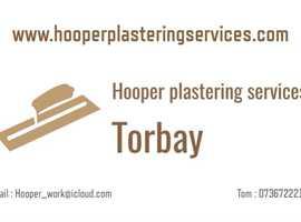 Plastering services Torbay