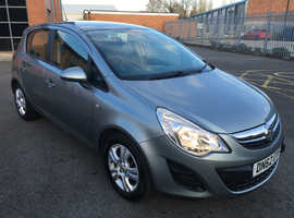 Vauxhall Corsa, 2012 (62) Silver Hatchback, Manual Petrol, 68,000 miles