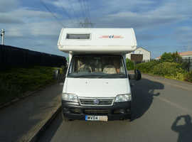 CI RIVIERA 181 6 BERTH MOTORHOME FOR SALE LOW MILEAGE 17,700 INCLUDING ALL ACCESSORIES AND LARGE AWNING
