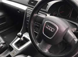 Audi A4, 2005 (55) Blue Estate, Manual Diesel, 143,000 miles