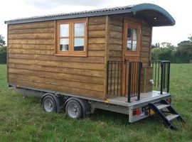 Luxury Shepherds Hut Log Cabin