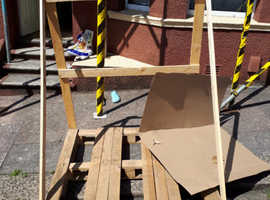 Free Large wooden pallet
