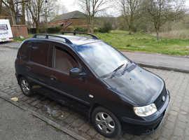 Hyundai Matrix, 2007 (57) Black Saloon, Manual Diesel, 97,000 miles