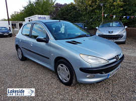Peugeot 206 1.4 Litre 5 Door Hatch, Lovely Condition Throughout, Long Mot, Cheap Insurance Group.