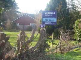 Three plots for detached 3 bed dwellings in the Clwydian Range.