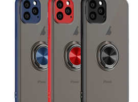 Iphone 11 PC+TPU Magnetic Ring Holder Case/Cover 6.1 Inches Iphone 11