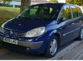 Renault Megane, 2006 (55) Blue MPV, Manual Diesel, 111,000 miles