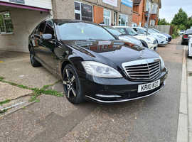 Mercedes S Class, 2010 (10) Black Saloon, Automatic Diesel, 116,000 miles