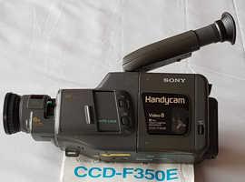 Sony handycam ccdf 350e camcorder