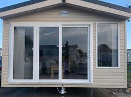 Premium caravan already sited in Trecco Bay, Porthcawl