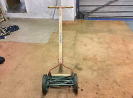Vintage Suffolk push lawn mower
