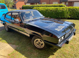 1984 Ford Capri 2.0s (Black) - 55k