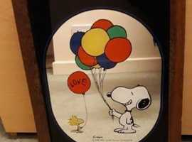 Retro Snoopy Mirror
