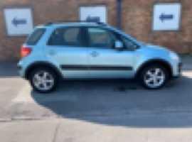 Suzuki SX4, 2007 (57), Manual Petrol, 43,000 miles