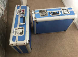 Camera cases flight case used once  solid