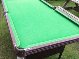 Free 6ft snooker table