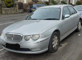 Rover 75, 2002 (52) Silver Saloon, Automatic Diesel, 740,000 miles