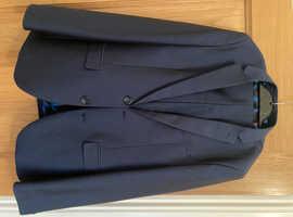 Boys Navy suit age 14