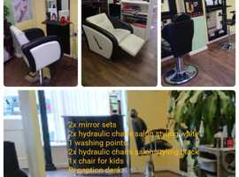 Hairdressing set for salon