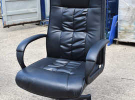 Cheap Furniture Office Clearance - Leather Office Chair with Armrests (3 available)
