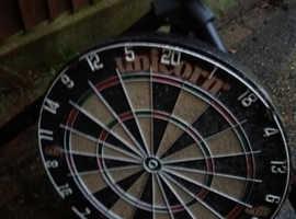 Stand, dart board & surround