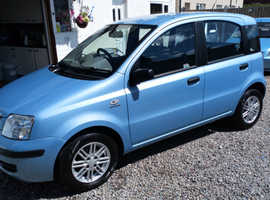 Fiat Panda, 2005 (55) Blue Hatchback, Manual Petrol, 105,000 miles