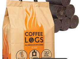 12 bags of new unopened coffee logs £30