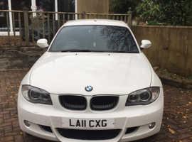 BMW 1 series, 2011 (11) White Hatchback, Manual Diesel, 83,540 miles