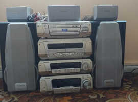 technics seperates hi-fi system for sale