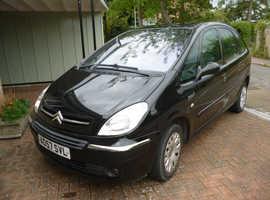 Citroen Xsara, 2007 (57) Black Estate, Manual Diesel, 121,600 miles