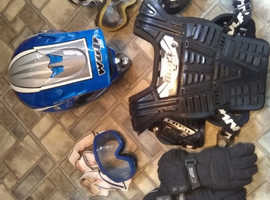 Helmet jackets and body armour
