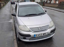 Citroen C3, 2003 (53) Silver Hatchback, Manual Petrol, 91,374 miles