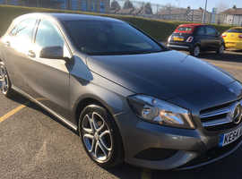 Mercedes A-CLASS, 2015 (64) Grey Hatchback, Automatic Diesel, 126,000 miles