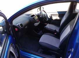 Motorhome tow car. Citroen C1, 2012 (62) Blue Hatchback, Manual Petrol, 78,044 miles