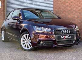 2013 Audi A1 1.4 TFSI Sport Edition In a Gorgeous Metallic Red with Half Leather Interior