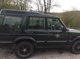 Land Rover Discovery, 2001 (51) green 4x4, Automatic Diesel, 20,000 miles