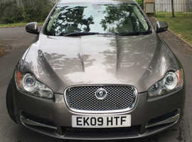 Jaguar XF Portfolio 5 litre. Grey metallic. Immaculate. Two owners. 50,150 miles only.